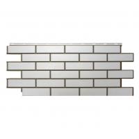 """Фасадная панель Nordside (Нордсайд) """"Гладкий кирпич"""", Белый"""