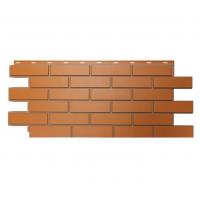 """Фасадная панель Nordside (Нордсайд) """"Гладкий кирпич"""", Красный"""