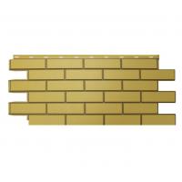 "Фасадная панель Nordside (Нордсайд) ""Гладкий кирпич"", Желтый"
