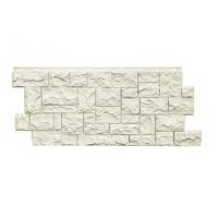 """Фасадная панель Nordside (Нордсайд) """"Северный камень"""", Белый"""