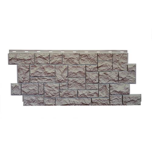 """Фасадная панель Nordside (Нордсайд) """"Северный камень"""", Терракотовый"""