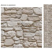 Стеновая панель ПВХ UNIQUE Домик в деревне (матовый лак)