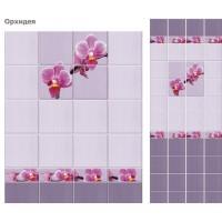 Стеновая панель ПВХ UNIQUE Орхидея