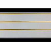 ПВХ Панель потолочная Трехсекционное Золото