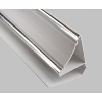 Молдинг потолочный серебро для ПВХ Панелей