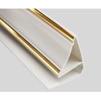 Молдинг потолочный золото для ПВХ Панелей